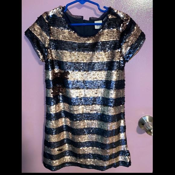GAP Other - Sequin striped dress GAP
